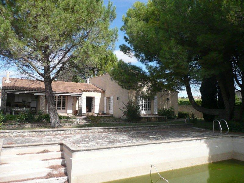Vente maison/villa 5 pièces jonquieres st vincent 30300